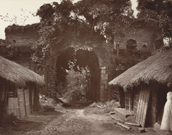 Maldah. Gate of Fort.